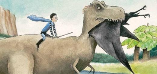 Henry bei den Dinosauriern